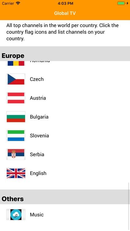 Global TV Channels Info screenshot-6
