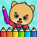 Рисование: раскраска для детей на пк