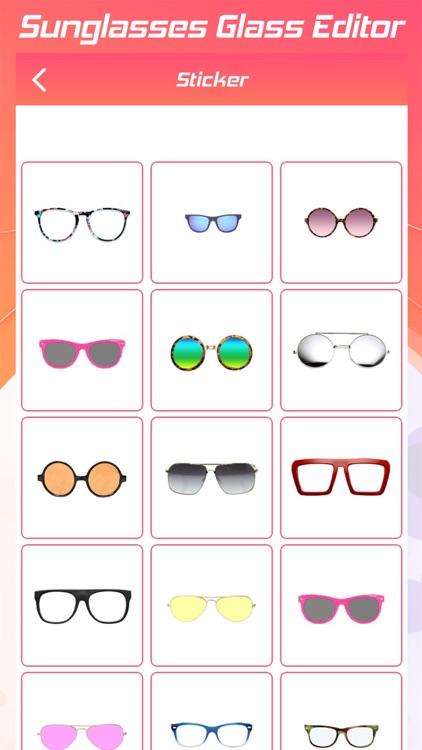 Sunglasses Glass Editor screenshot-3