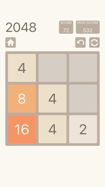 2048: Number Puzzle Game screenshot-3