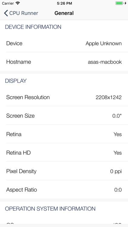 CPU Runner-性能跑分、硬件检测 screenshot-6