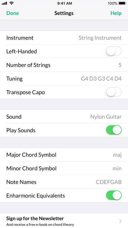 Reverse Chord Finder Pro screenshot-3