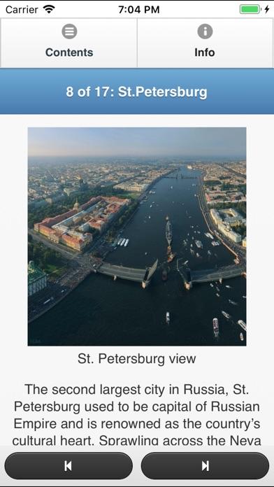 Russia Travel Fan Guide Скриншоты6