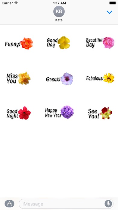 Animated Cute Flower Greetings Screenshot