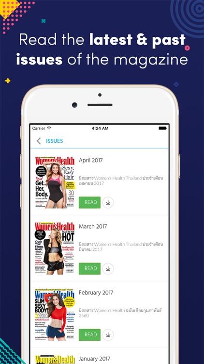 Women's Health Thailand Magazine
