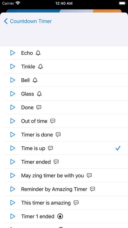 VoyTimer: Talking Voice Timer screenshot-5