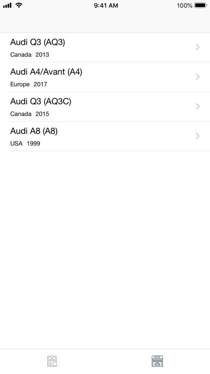Car parts for Audi - diagrams screenshot-9