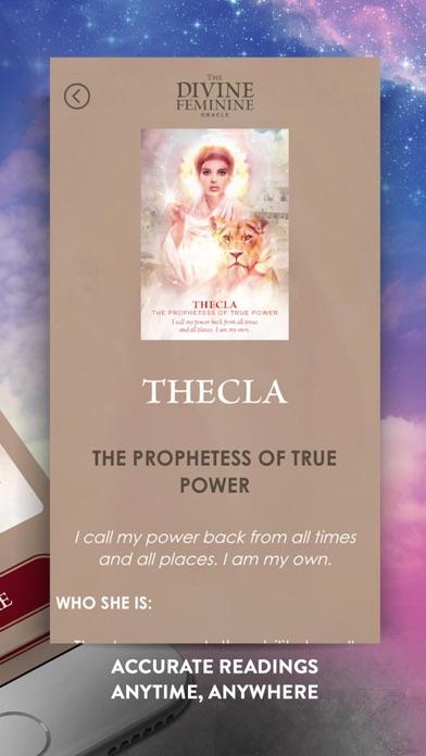 The Divine Feminine Oracle screenshot 5