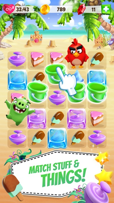 Angry Birds Match app image