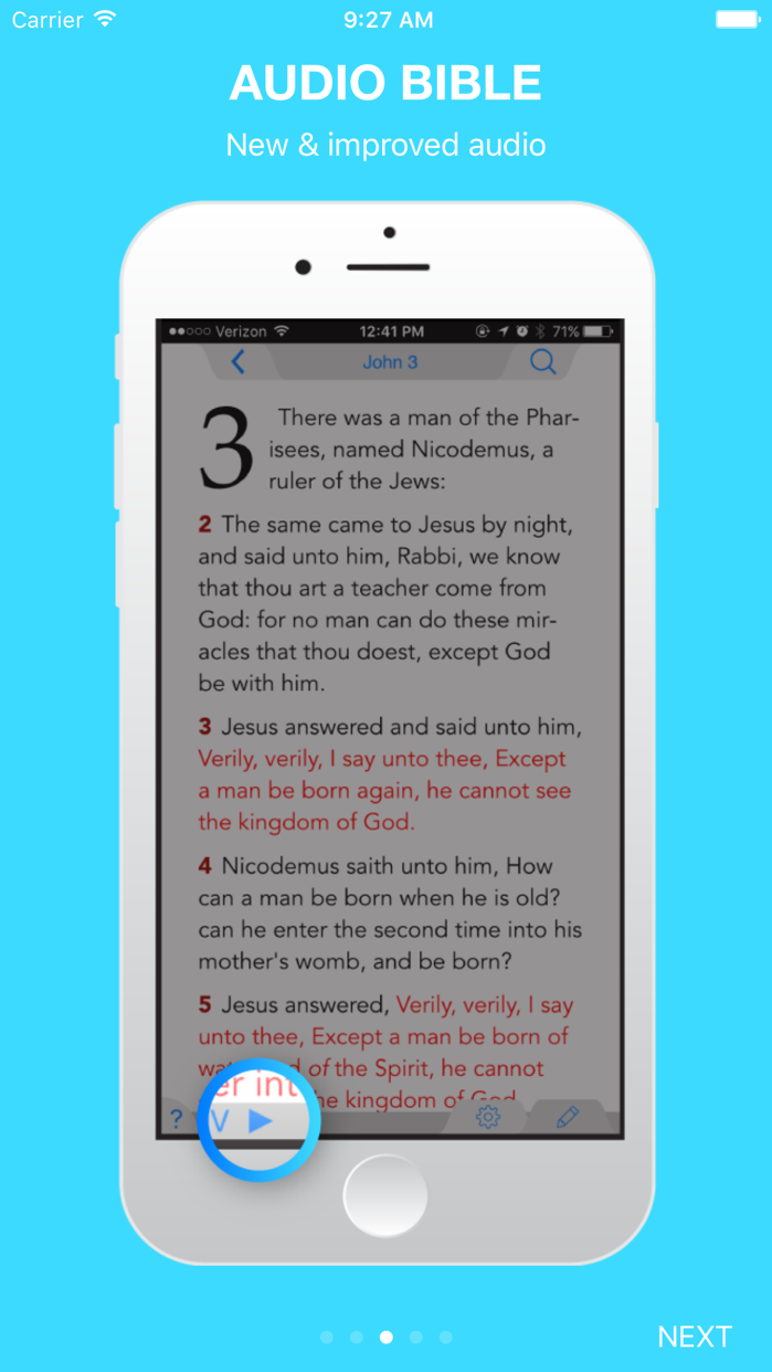 Holy Bible King James + Audio Screenshot