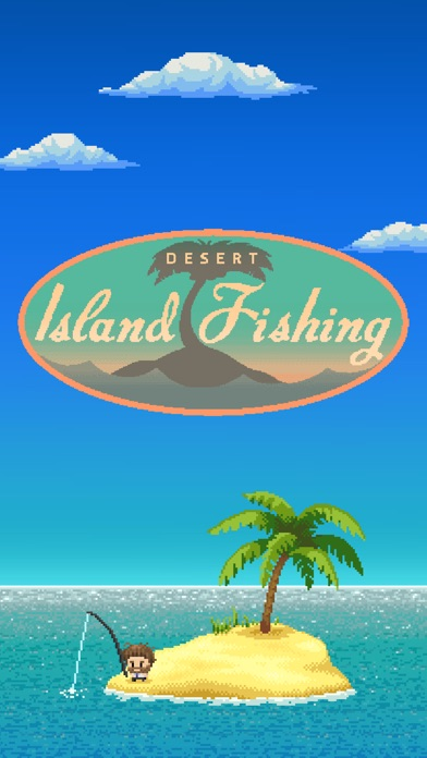 Desert Island Fishing Screenshot on iOS