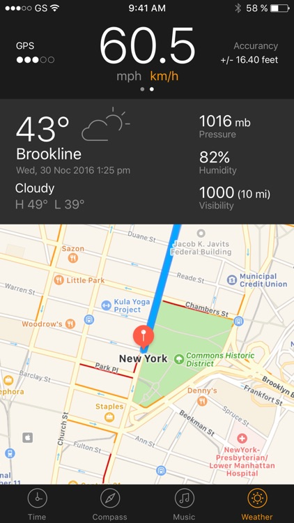GPS Running Walking tracker screenshot-4