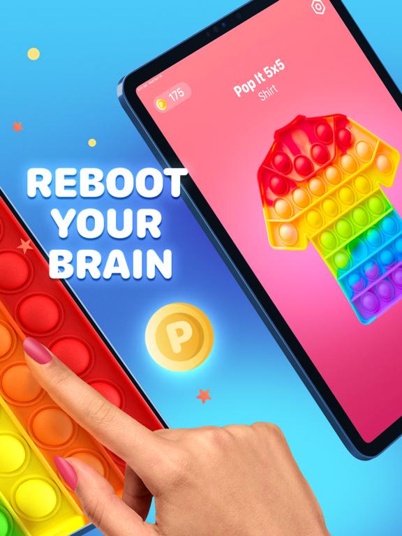 Pop it Game - Fidget Toys 3D iPad app afbeelding 2