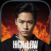 RED QUEEN, INC. - HiGH&LOW THE CARDTEPPEN BATTLE アートワーク