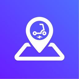 E-Scooter & Bike Map