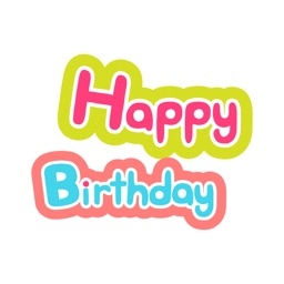 Happy Birthday Card Greets Emo