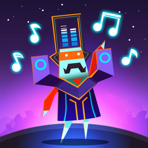 Groove Planet - Rhythm Clicker iOS App
