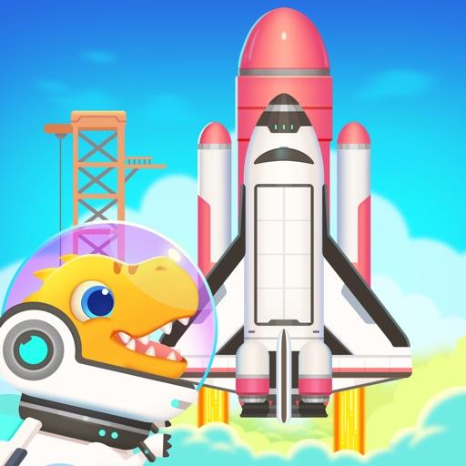 Dinosaur Rocket Games for kids