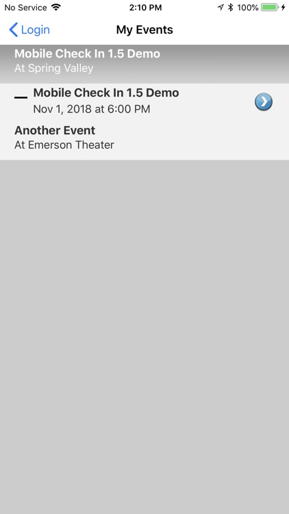 Eventgroove Check In