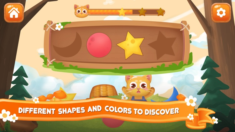 Shapes and Colors for Kids 2+