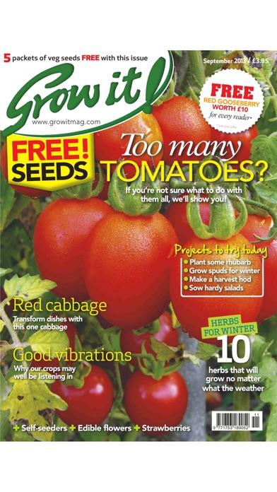 Grow It - The Best Value Kitchen Garden Magazine Screenshot