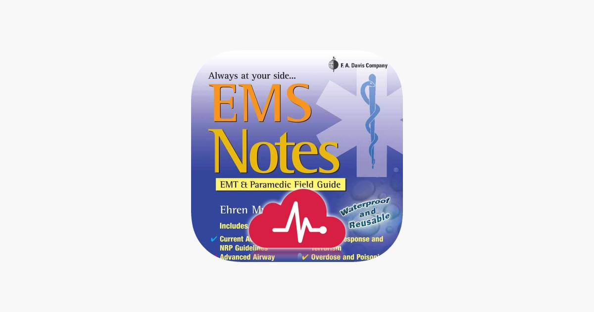 EMS Notes: EMT & Paramedic on the App Store