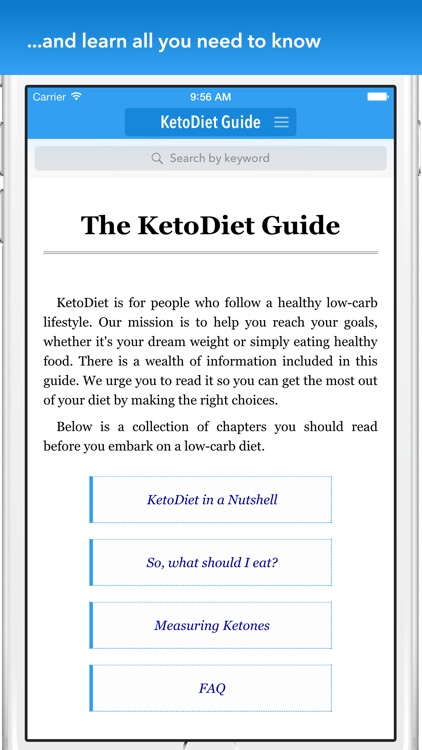 KetoDiet Basic screenshot-3