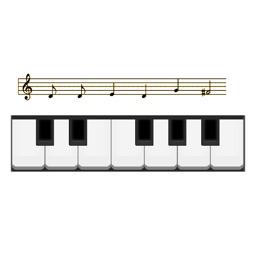Piano Notes: sight reading