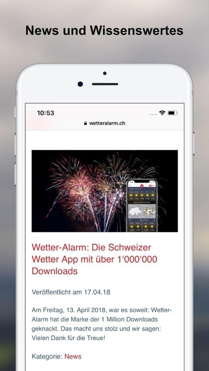 Wetter-Alarm: Wetter & Alarme screenshot-7