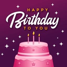Birthday Wishes & Card Frame