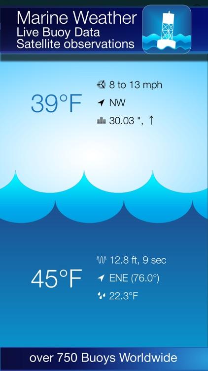 Buoy Finder NOAA NDBC screenshot-0