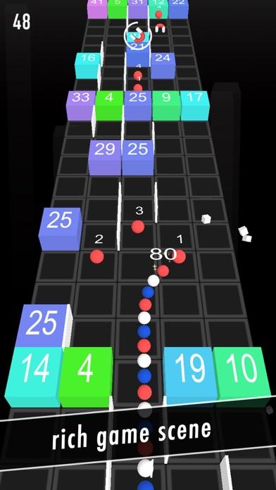 Balls Snake-Hit Up Number Cube screenshot two