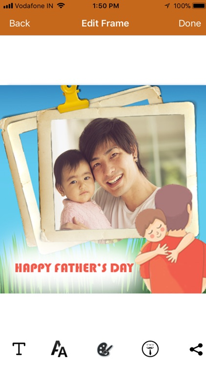 Happy Father\'s Day Frames 2018 by Web Pudding