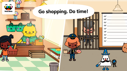 Screenshot for Toca Life: Town in United States App Store