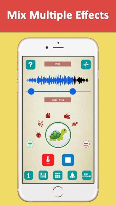 Voice Changer Recorder Fuvoch screenshot two