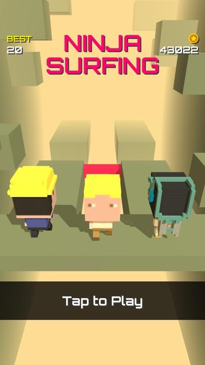 Ninja surfing screenshot-3