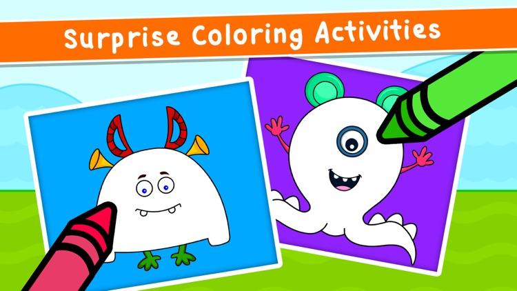 Kidlo Coloring Book For Kids screenshot-4
