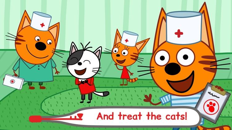 Kid-E-Cats: Pet Doctor Games screenshot-5