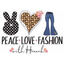 Peace Love Fashion With Hannah