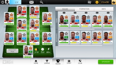 New Star Soccer Manager Screenshot 4