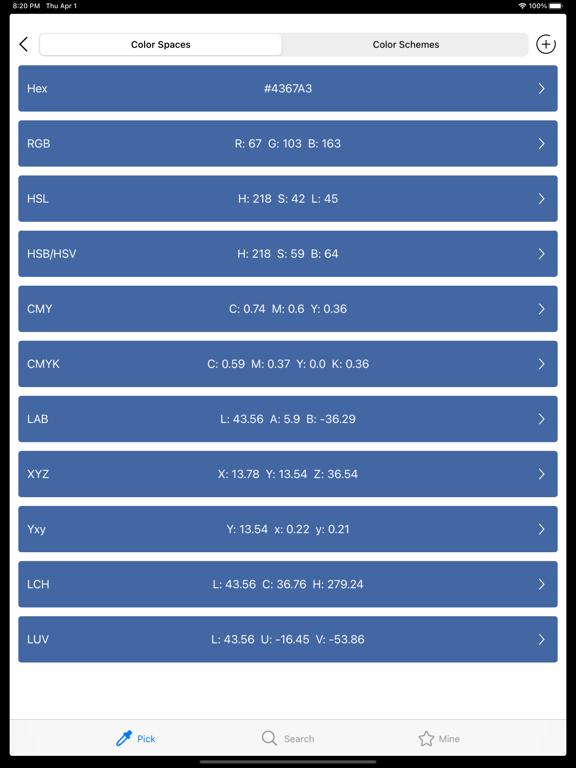 ColorPicker - pick color tool Screenshots
