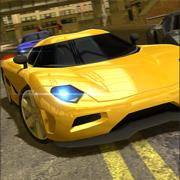 市交通街路汽车驾驶漂移和停车场模拟器