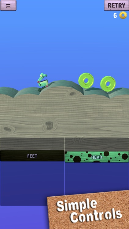 Wobble Frog Adventures screenshot-0