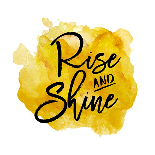 #RiseANDShine-Words for Women