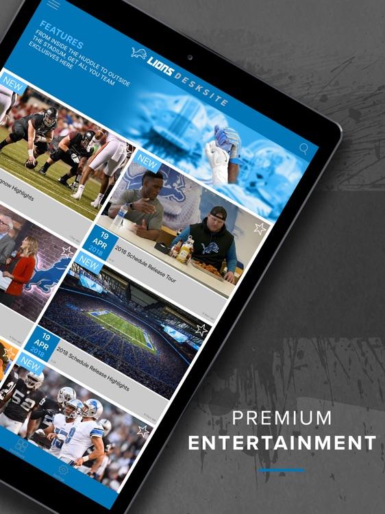 Lions DeskSite screenshot-3