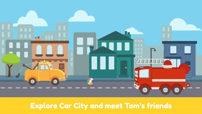 Tom the Tow Truck of Car City Screenshots