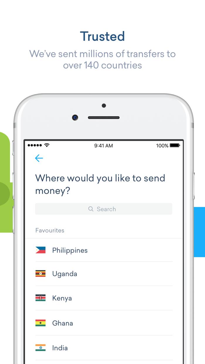 WorldRemit Money Transfer Screenshot