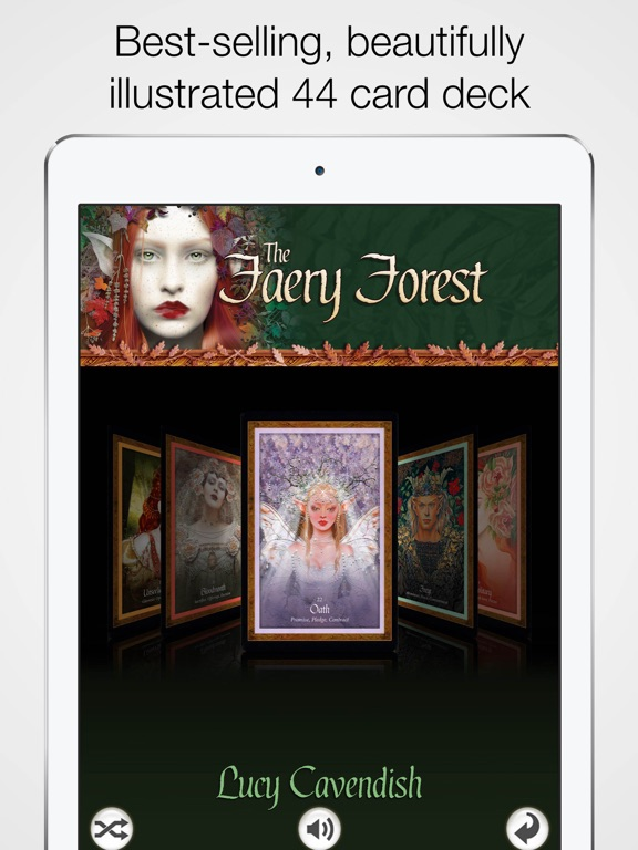 Screenshot #5 pour Faery Forest Oracle