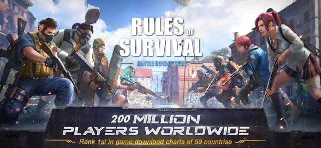 Rules Of Survival Dans Lapp Store