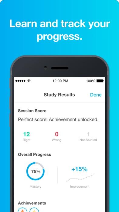 Studyblue review screenshots